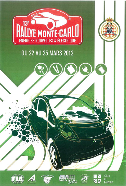 Rallye Monte Carlo für alternative Antriebe