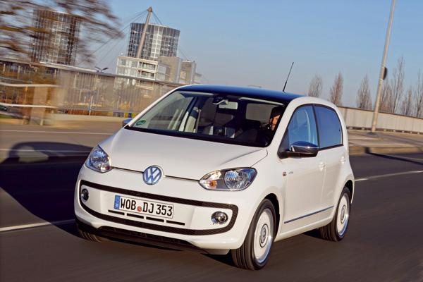 VW Up! jetzt auch mit BlueMotion Technology