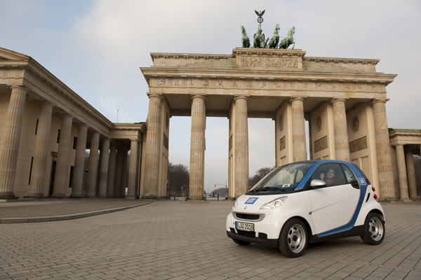 car2go startet in Berlin