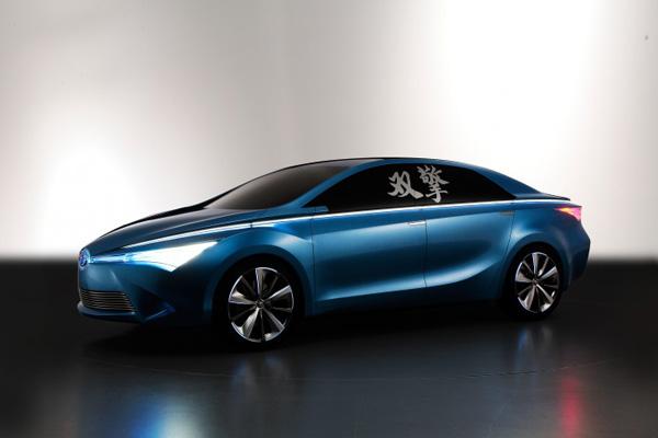 Toyota Yundong Shuangqing Hybrid