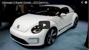Volkswagen E-Bugster Concept: Neuer Käfer mit Elektroantrieb