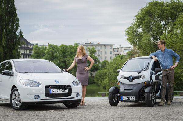 Barbara Schöneberger und Joko für Renault ZE