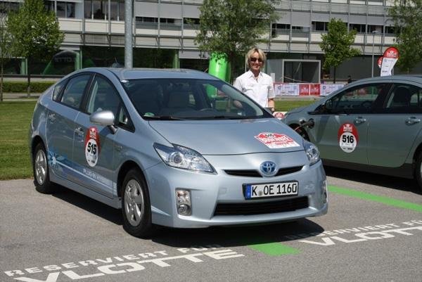 Bodensee-Elektrik 2012: Erster Platz für den Toyota Prius Plug-in Hybrid