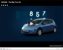 The Big Turn On – Ein Elektroauto Nissan LEAF gewinnen (Anzeige)
