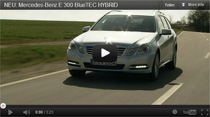 Video: Vorstellung des Mercedes-Benz E 300 BlueTEC Hybrid