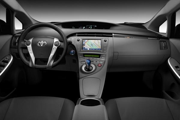 Prius Plug in Hybrid - Cockpit