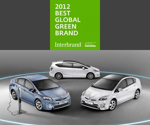 Toyota - Grünste Marke 2012