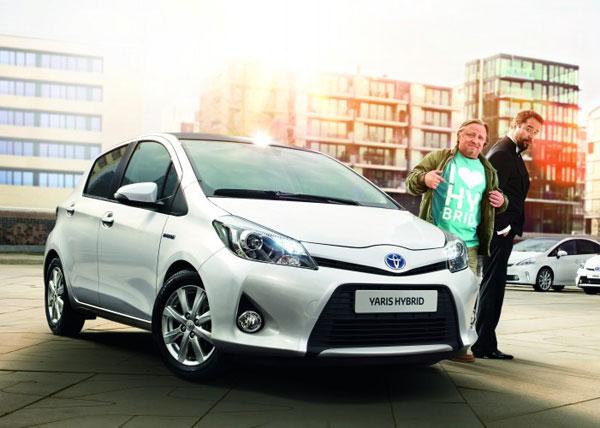 Toyota Hybrid Botschafter - Jan Josef Liefers und Axel Prahl