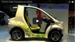 Video: Mini-Elektrofahrzeug auf Basis des Toyota COMS
