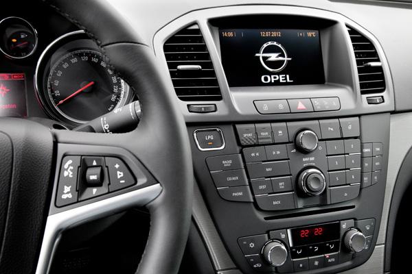 Opel Insignia 1.4 Turbo LPG ecoFLEX - LPG-Schalter