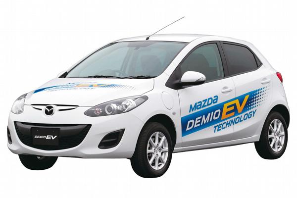 Mazda 2 Elektroauto