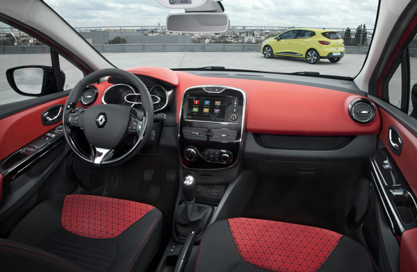 Renault Clio - Innenraum