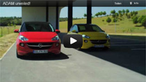 Video: Opel Adam Trailer