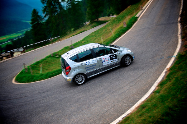 Mercedes-Benz A-Klasse E-Cell vom Team TÜV SÜD