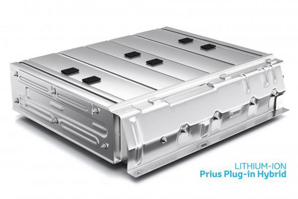 Lithium Ionen Batterie aus dem Toyota Prius Plug-In Hybrid