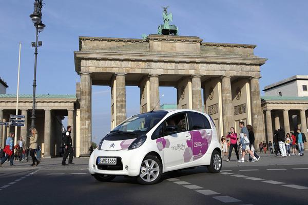 Multicity Carsharing mit Elektroautos