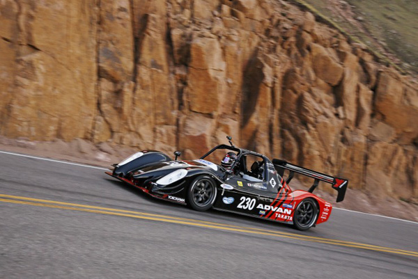 TMG EV P002 beim Pikes Peak International Hill Climb