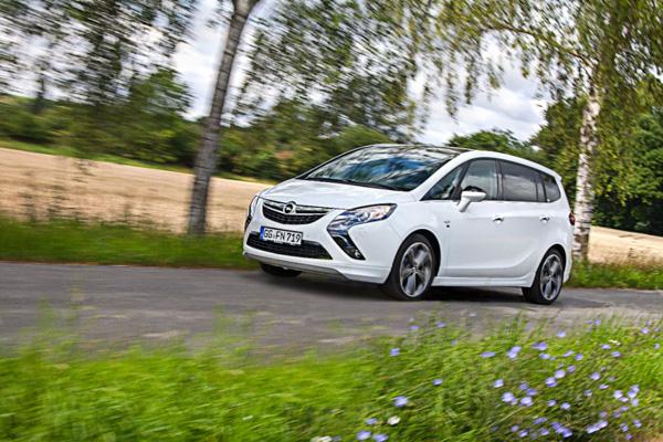 Opel erweitert Autogas-Angebot des Zafira Tourer um einen 1.4 Turbo-Motor