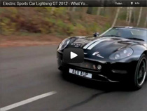 Video: Der Elektrosportwagen Lightning GT 2012