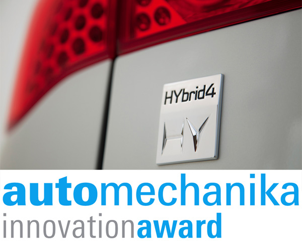 Automechanika Innovation Award 2012 für den HYbrid4-Antrieb