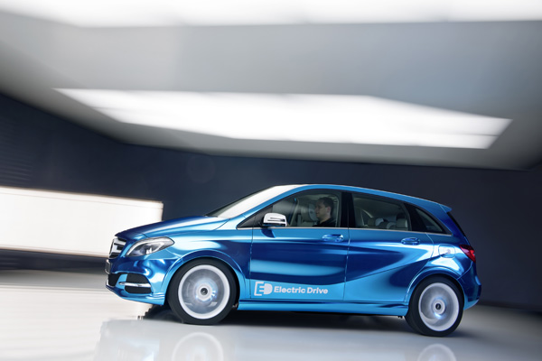 Mercedes-Benz Concept B-Class Electric Drive