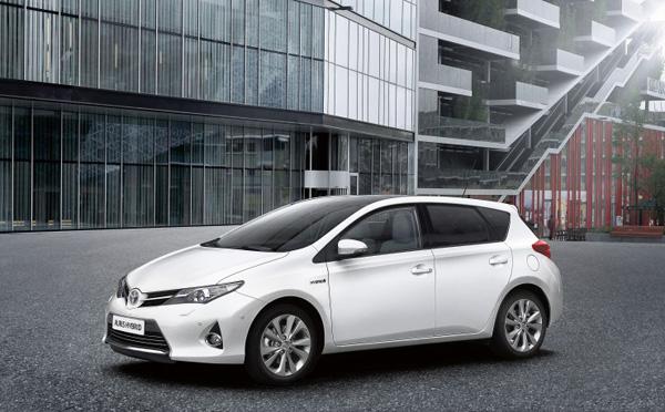 Neuer Toyota Auris Hybrid