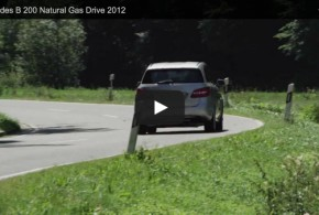 Mercedes-Benz B 200 Natural Gas im Video