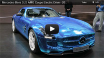 Video: Mercedes SLS AMG Electric Drive auf dem Autosalon in Paris