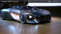 Video: Peugeot Onyx Concept auf dem Pariser Autosalon 2012
