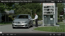 Video: Mercedes-Benz B 200 Natural Gas