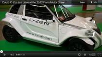 Video: Testfahrt mit dem Courb C-Zen