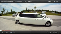 Video; Nissan Leaf Stretch-Limousine