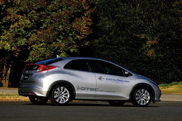 Honda Civic EDT mit 1.6 i-DTEC Dieselmotor