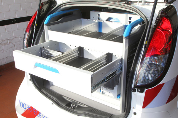 Peugeot iOn Cargo - Laderaum