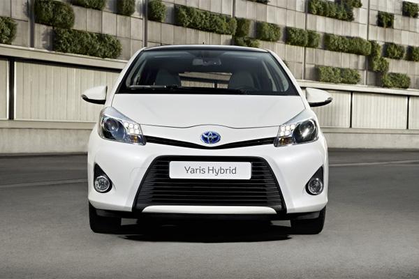 Toyota Yaris gewinnt das Grüne Lenkrad 2012