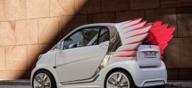 smart forjeremy: Designer Jeremy Scott verleiht dem Elektroauto Flügel