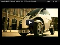 Der Lumeneo Smera – Elektrisch angetriebener Kabinenroller