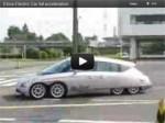 Video: Eliica Elektroauto beim Beschleunigen