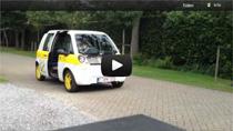 Die mia electric im Einsatz bei der Vlaamse Post in Belgien
