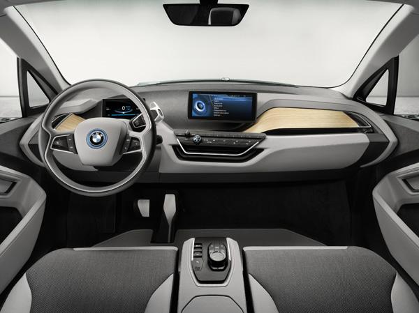 BMW i3 Concept Coupé - Innenraum