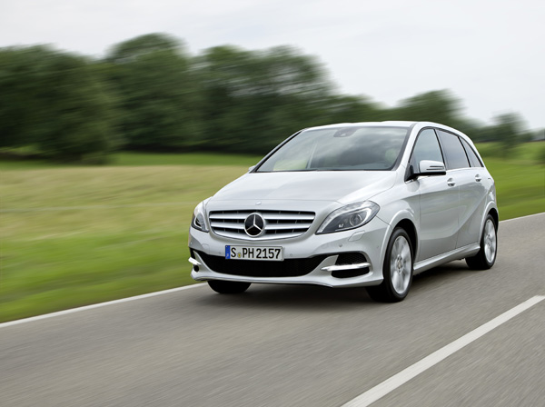 Mercedes-Benz B-Klasse, B 200 Natural Gas Drive - 1. Platz der Kompaktvans
