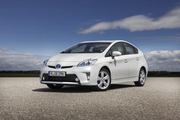 Toyota Prius - Platz 1 der Mittelklasse