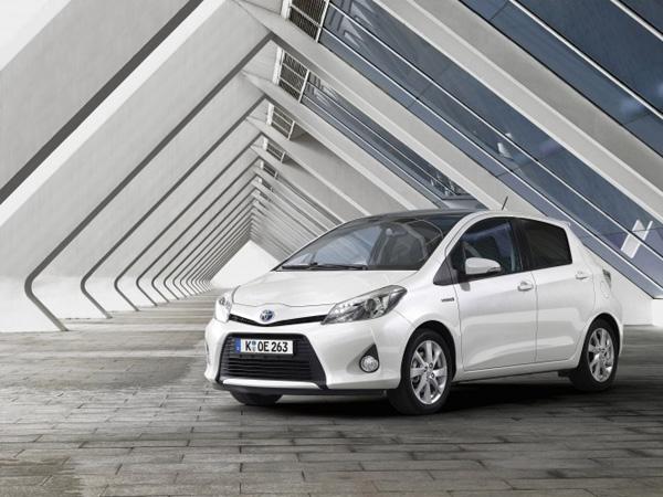 Toyota Yaris Hybrid - Platz 1 der Kleinwagen