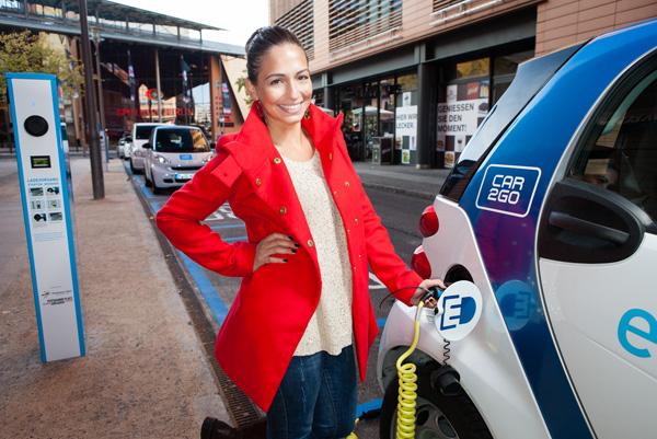 car2go Elektroautos in Berlin