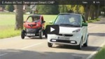 Video: CHIP E-Auto Test - Renault Twizy vs. Smart fortwo ed