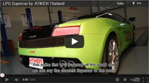 Video: Lamborghini Gallardo mit Autogasanlage