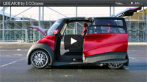 Video: Elektroauto QBEAK III