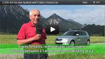 Video: Mit dem Skoda Fabia GreenLine 2000 km mit nur einer Tankfüllung gefahren