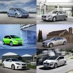 Autos mit Hybridantrieb