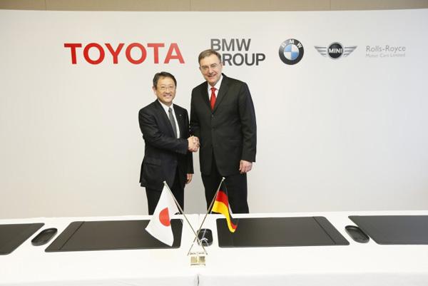 BMW Group und Toyota Motor Corporation unterzeichnen Vertrag